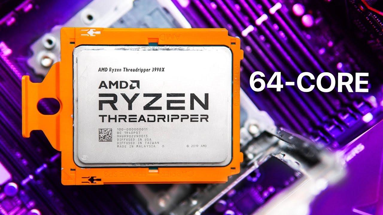 AMD Threadripper 3990X análisis - Exceso de 64 núcleos + vídeo