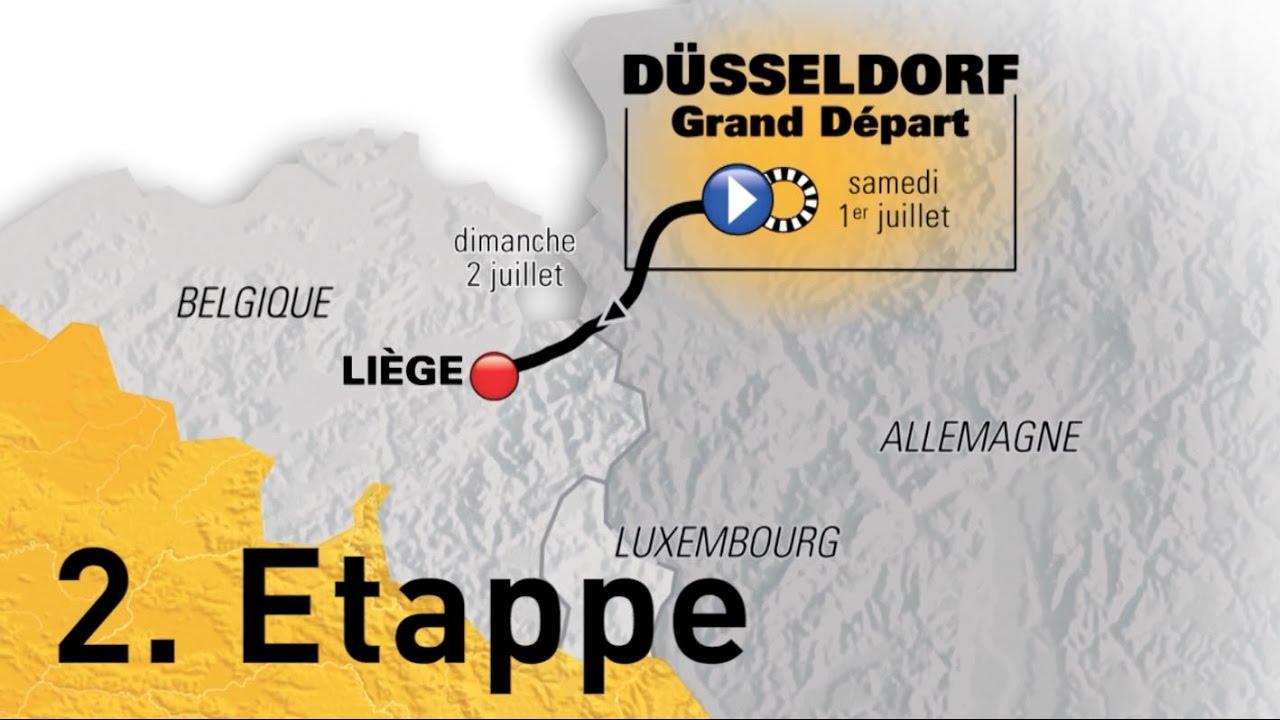 Tour De France 2017 2 Etappe Youtube