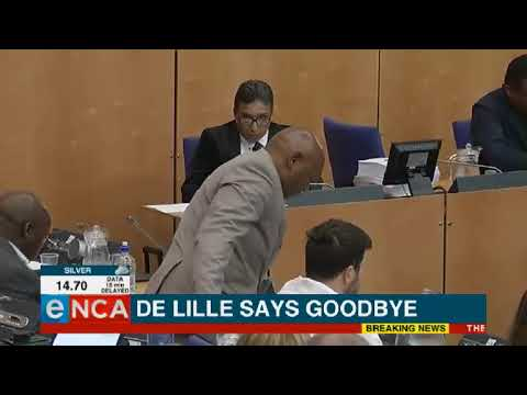 DA Chief Whip resigns in support of De Lille