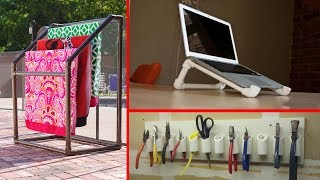 50+ Awesome DIY Projects Using PVC Pipe Great ideas with PVC pipe