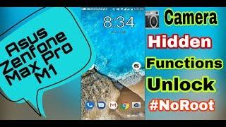 Unlock Hidden Camera Function in Asus Zenfone Max Pro M1    No root    Beast Mode   