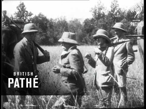 India - Duke Of Connaught Hunting (1921)