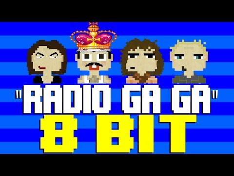 Radio Ga Ga [8 Bit Tribute to Queen & The Bohemian Rhapsody Movie]