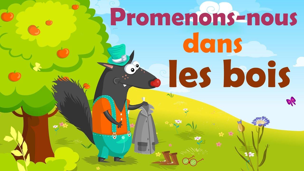 Download Promenons-nous dans les bois - Comptine avec gestes pour enfants et bébés (avec les paroles)