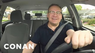 Andy Was Forced To Be His Own Uber Driver - CONAN on TBS