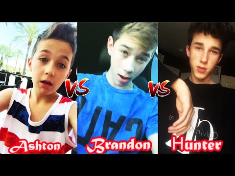 Ashton Rowland VS Brandon Rowland VS Hunter Rowland Musical.ly | Battle Musers