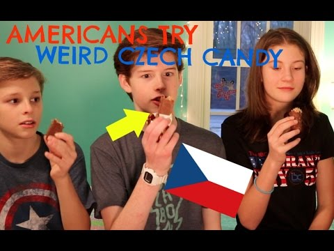 AMERICANS TRY CZECH CANDY!