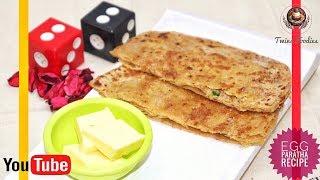 अंडा पराठा रेसिपी Egg Paratha Recipe //Breakfast Special Paratha // Crispy and Tasty Recipe