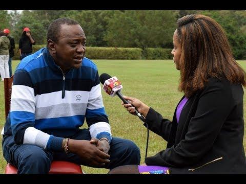 Five Minutes with President Kenyatta: Capital FM EXCLUSIVE