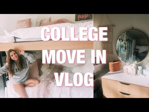 COLLEGE MOVE IN VLOG 2018 | Cal Poly SLO