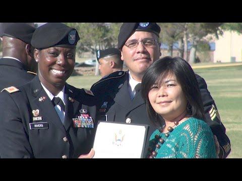 Fort Report Retirement Ceremony April 2017