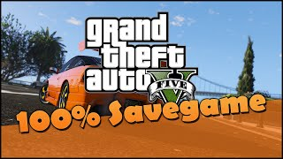 GTA 5: 100% PC Savegame Download & Installation [Deutsch]
