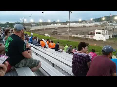 Peoria speedway Modified feature 7/6/19