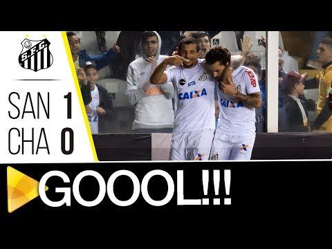 Santos 1 x 0 Chapecoense | GOL | Brasileirão (19/07/17)