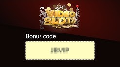 What is the bonus code for Videoslots?