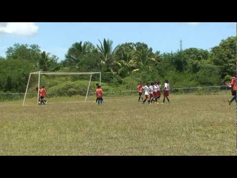 Giovanni Santoro scores his second goal for AC Milan Academy Puerto Rico in semifinals
