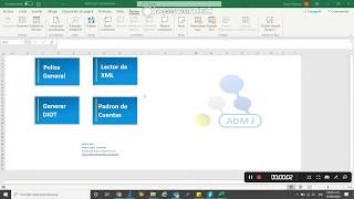 Contabilidad Lector de XML | ADMi Contabilidad V231