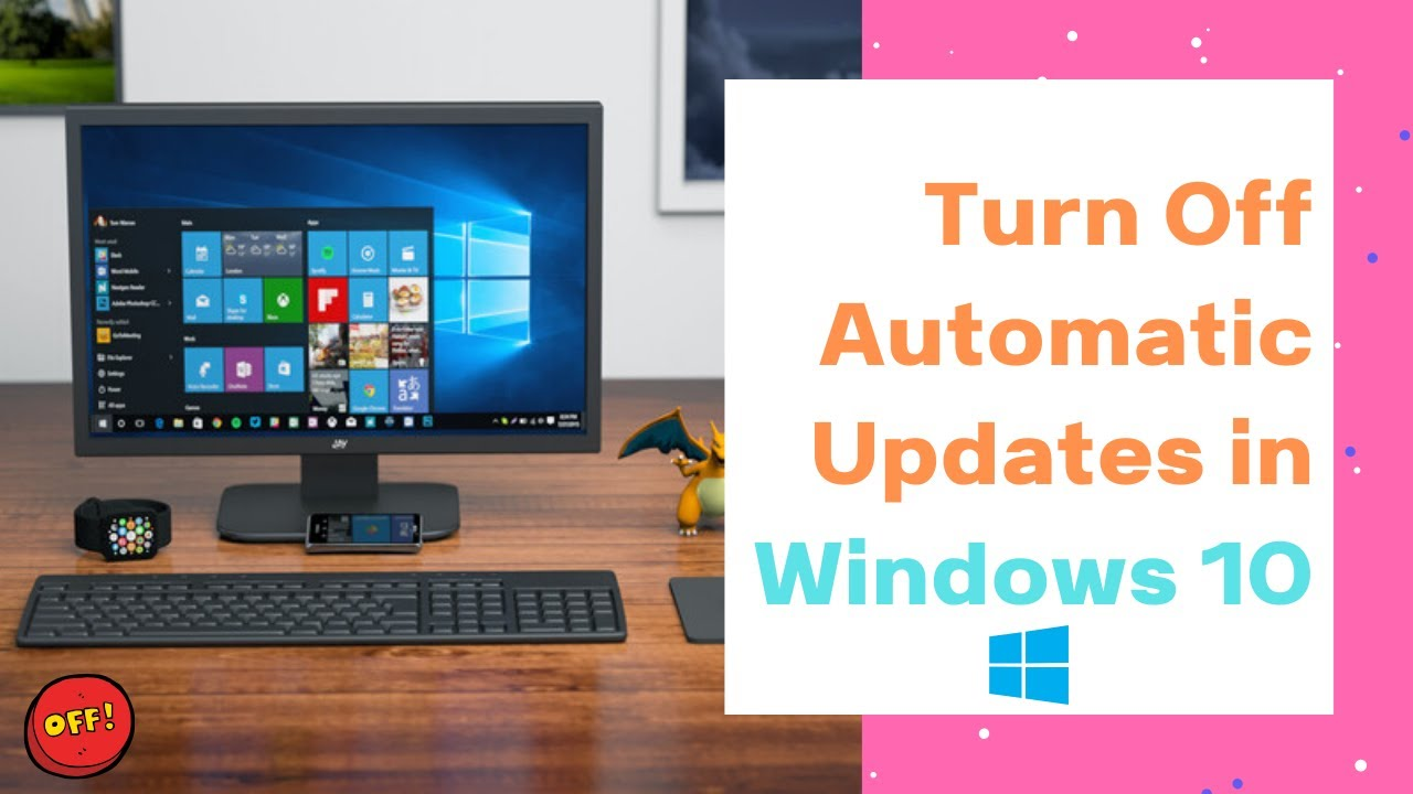 how to disable  turn off automatic updates in windows 10