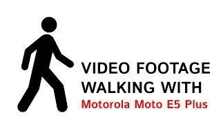 Motorola Moto E5 Plus (rhannah) съемка движения