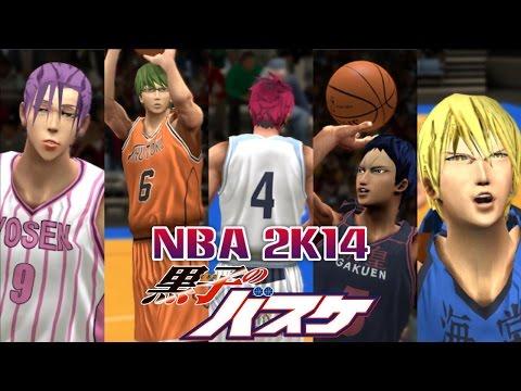 Kuroko no Basket NBA 2K14 mod - Full Gameplay
