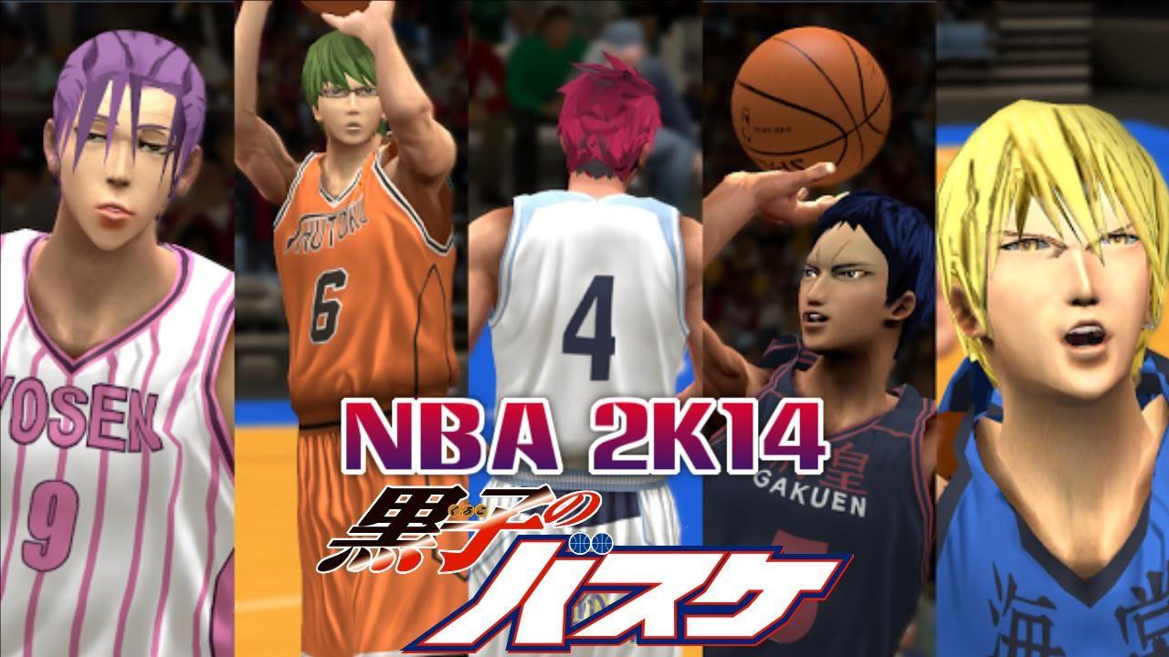 Kuroko no Basket NBA 2K14 mod – Full Gameplay
