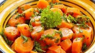 Жареная морковь со специями и медом