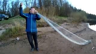 Кастинговая сеть 6 метров Самый простой и легкий способ заброса