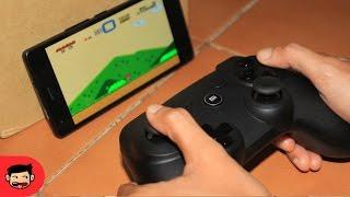 Bermain Game Smartphone Menggunakan Xiaomi Gamepad