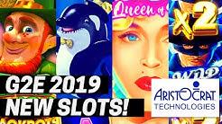 ★G2E 2019★ ARISTOCRAT 2019-2020 NEW SLOTS SHOWCASE | GLOBAL GAMING EXPO