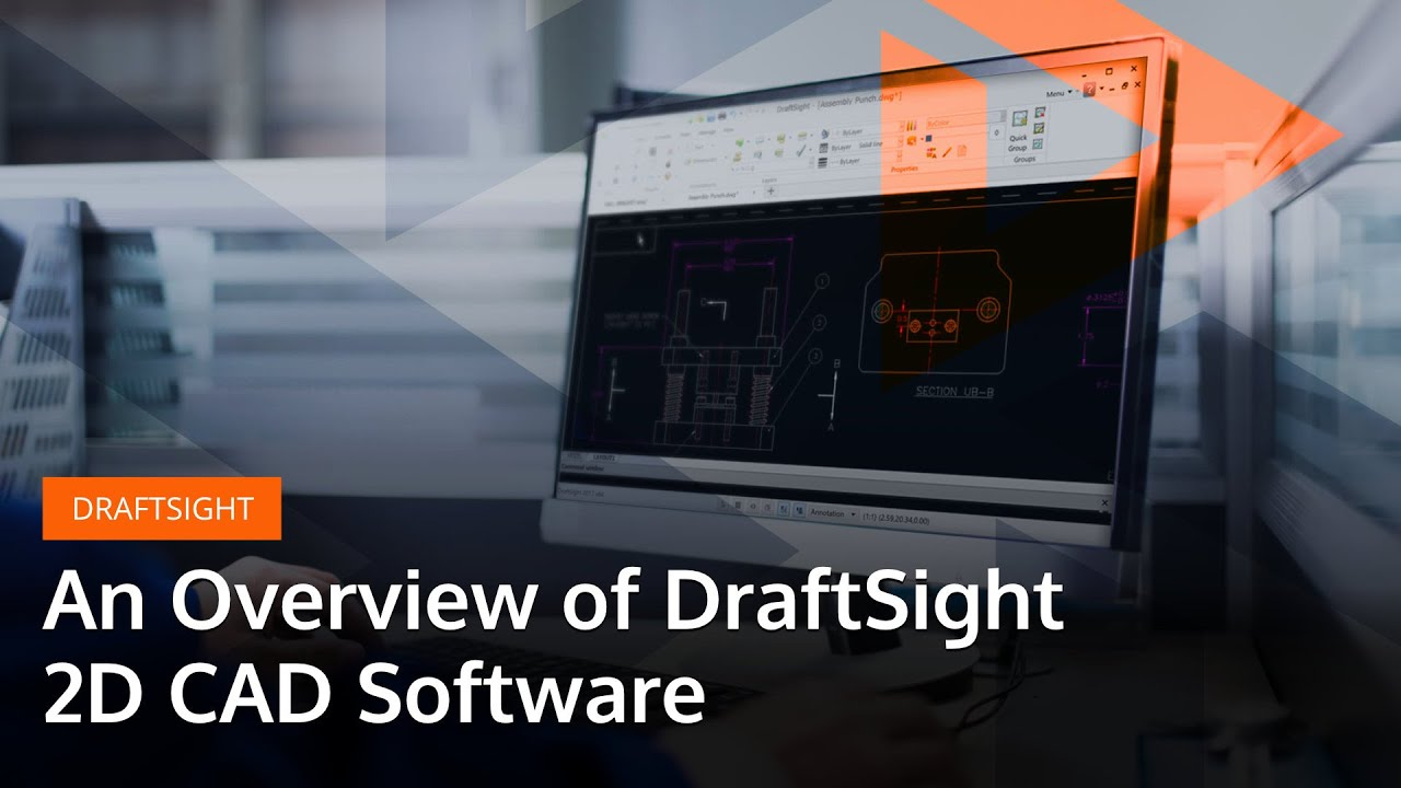 Draftsight Is A Powerful 2d Design And Drafting Software Solution