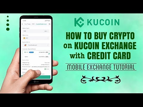 How To BUY CRYPTO On KuCoin Mobile Exchange With Credit Card | App Tutorial