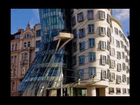 The Dancing House in Prague for Only 3 Minutes HD