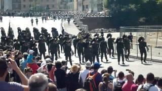Bersaglieri a Roma Colosseo Parata Militare Festa della Repubblica
