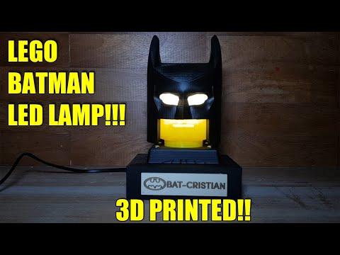 Lampada Lego Batman : Lego batman lampada da tavolo fai da te youtube