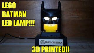 Lampada Lego Batman : Artigiano 2.0 alessio romanelli