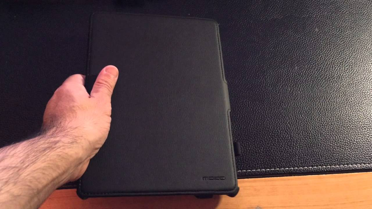 5e49d998d8d Review iPad Air Case  Moko Slim-Fit Case with Stand for iPad - YouTube