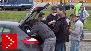 Primo Maggio, tentativo di protesta in piazza San Giovanni a Roma: identificati dalla polizia