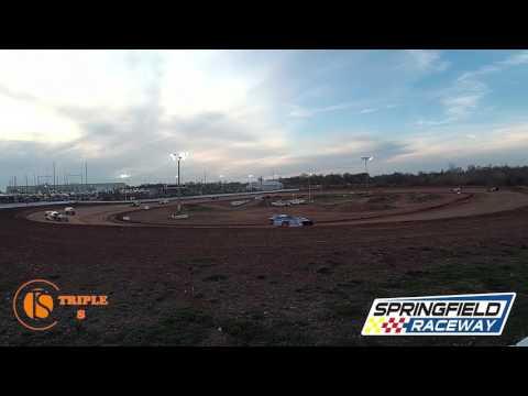 Heat Race Midwestwest  Springfield Raceway 4-1-2017 Don Haase