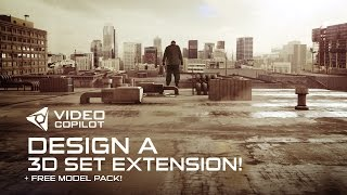 Design a 3D Set Extension Tutorial! + FREE model pack!