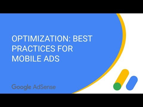 Optimization: Best practices for mobile ads