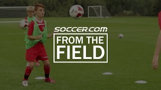 SOCCER.COM at Arsenal's Hale End Training Grounds: Aerial Control/First Touch Drill