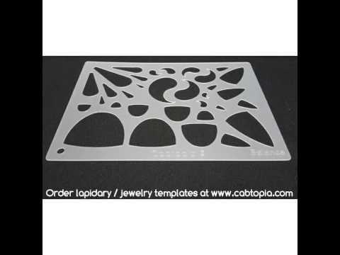 Cabtopia.com Lapidary/Jewelry templates - YouTube