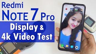 Redmi Note 7 Pro - 4K Video & Display Test