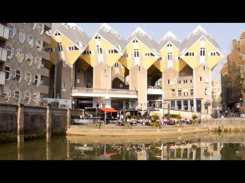 Kubushäuser  Rotterdam I Cube houses - Full HD 1080p