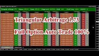 Triangular Arbitrage Full Option