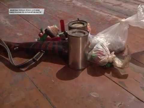В Рыльском районе задержан  мужчина, который хранил оружейный арсенал
