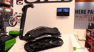 2015 BPG Aeon Dual Tracked Vehicle - Walkaround - 2014 EICMA Milan Motorcycle Exhibition