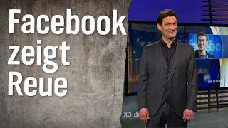 Facebook zeigt Reue