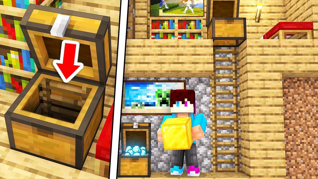 Download Ik Vond Een GEHEIME BASIS In Een KIST! (Minecraft)