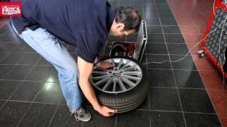 Испытания колес с посадочным диаметром от 15 до 18 дюймов смотреть